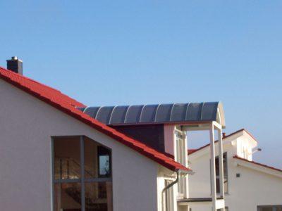 Framke Dachdecker: Dachkonstruktion, Tonnendach