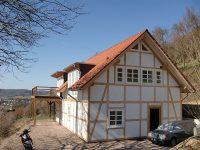Framke Dachdecker: Dachkonstruktion, Gaube mit Flachdach