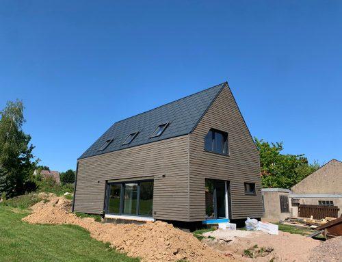 Aluminium-Dacheindeckung